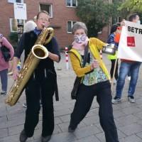Anne Wiemann, Bass-Saxophon