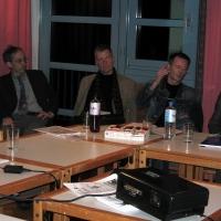 Pegelstand Hafenquerspange - 12-1-2006