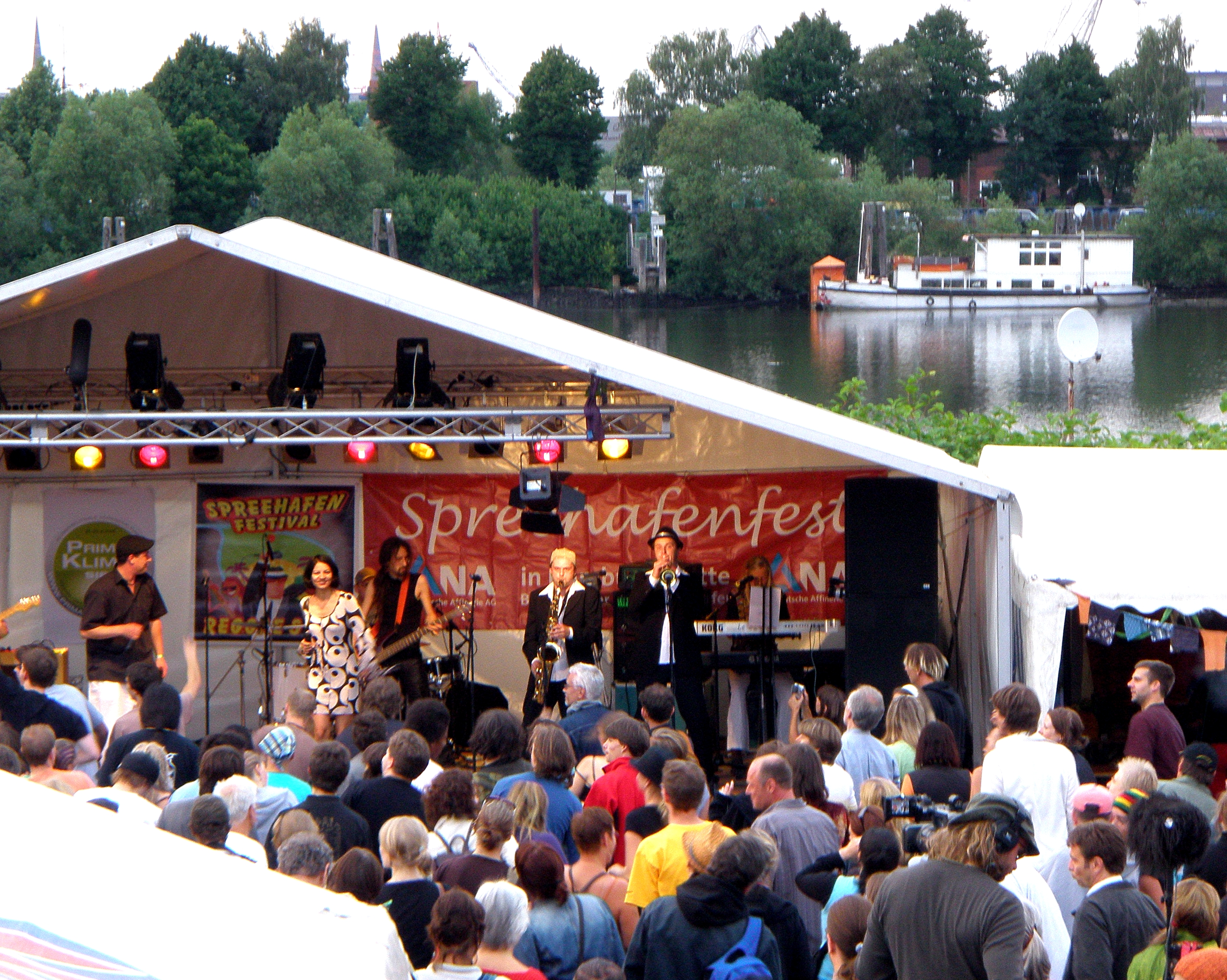 DUBTARI beim Spreehafenfest 2008 © Manuel Humburg