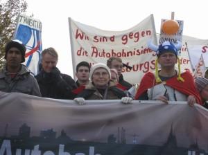 Demo 31.10.2009 - mit H.-U. Klose