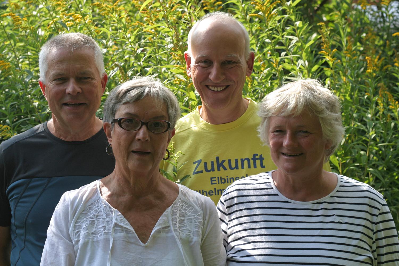 Vorstand 2013 Verein Zukunft Elbinsel Wilhelmsburg