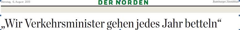 Abendblatt-Ausschnitt 6.8.13.