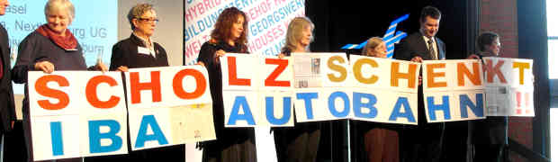 23.3.2013: Autobahnprotest bei