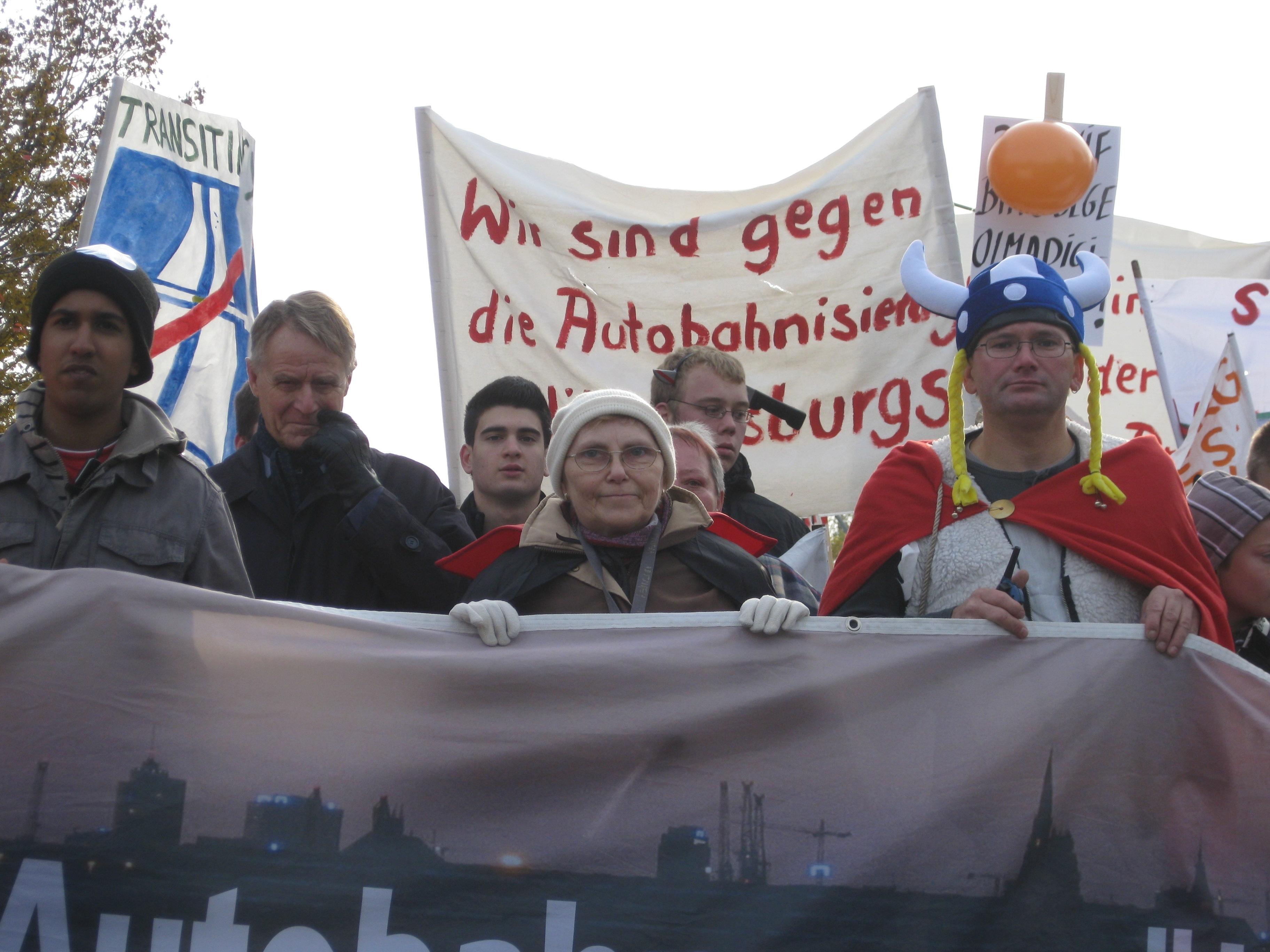 DEMO Reichsstraße - 31-10-09