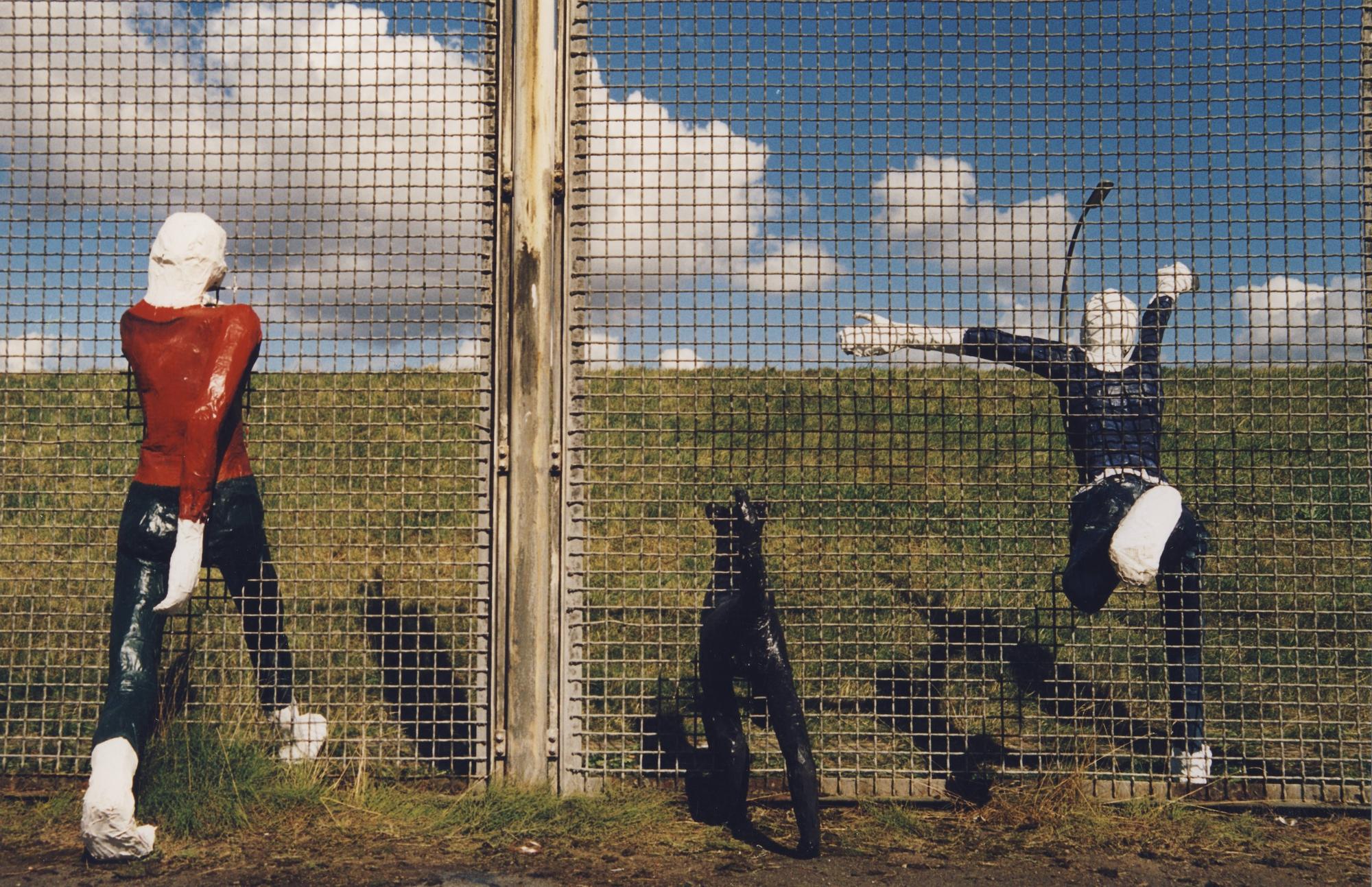 """""""Grenzgänger"""" Elisabeth Richnow 2000"""