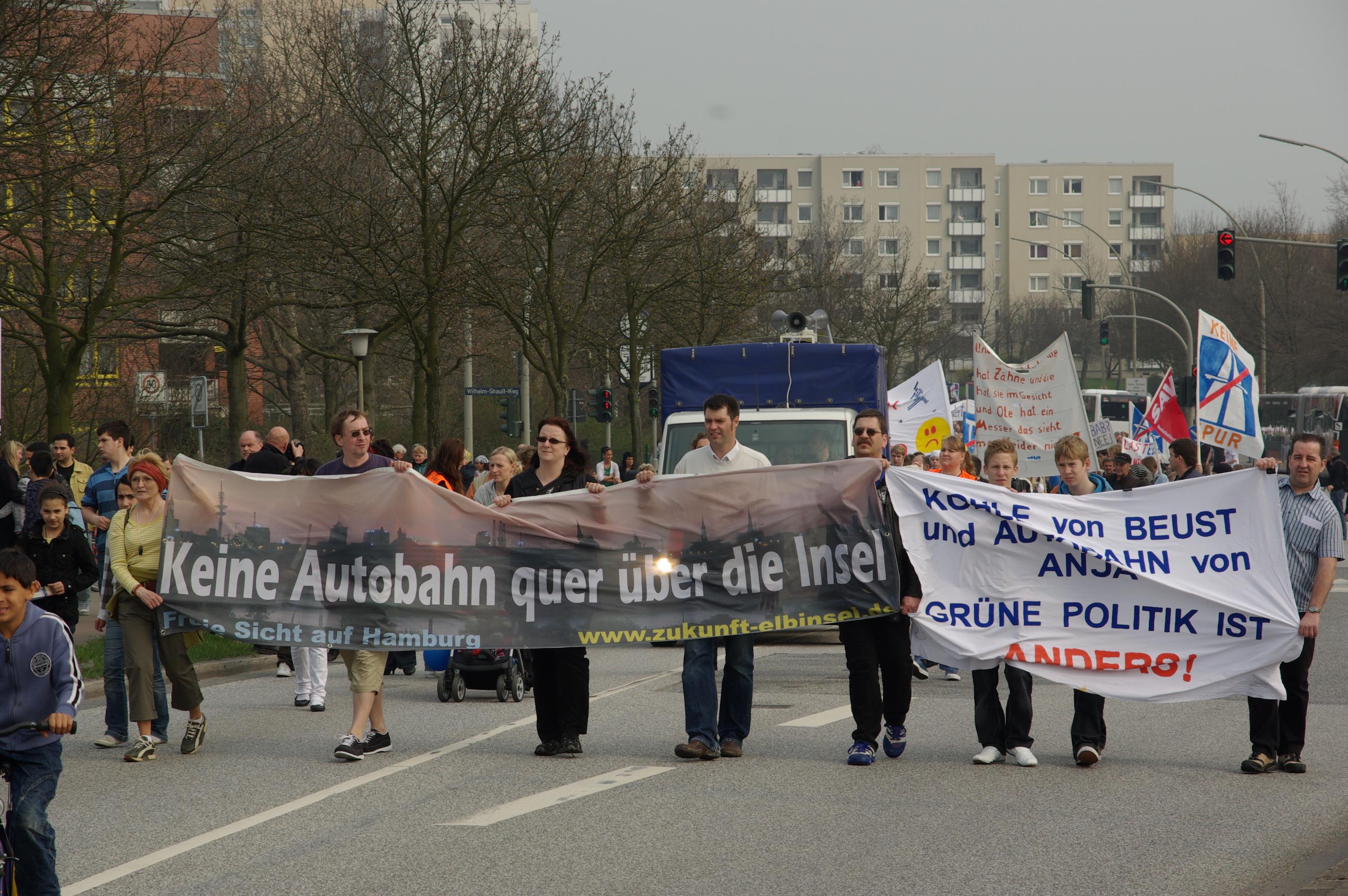Keine neue Autobahn 4.4.2009
