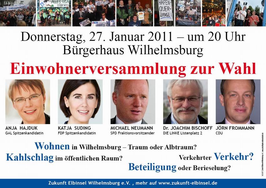 Einwohnerversammlung Bürgerschaftswahl 2011
