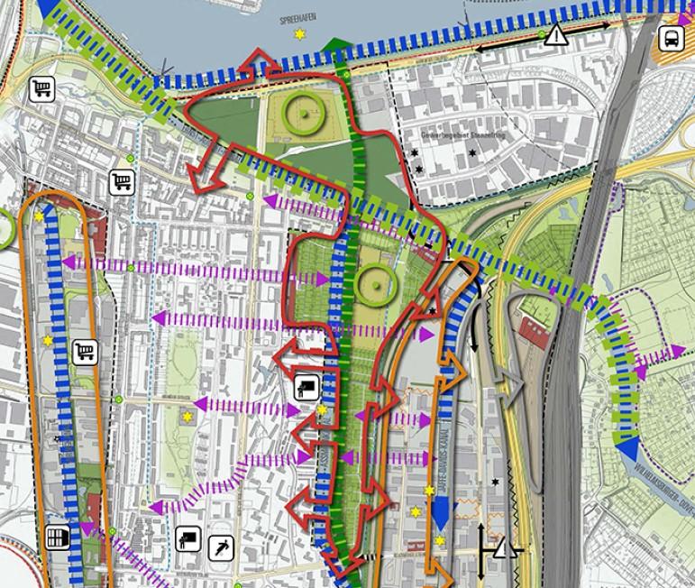 ©Copyright Freie und Hansestadt Hamburg Behörde für Stadtentwicklung und Umwelt Zukunftsbild Elbinseln 2013+ Zwischenbilanz Erläuterungsbericht Entwurf (September 2013)