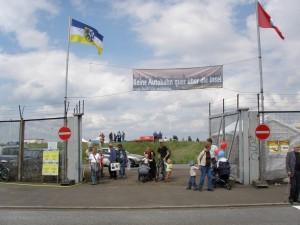 Das Tor ist auf - Spreehafenfest 2007 © Manuel Humburg