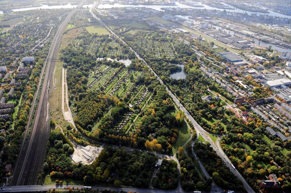 Wilhelmsburger - Park - Aufnahme BSU - Oktober 2008