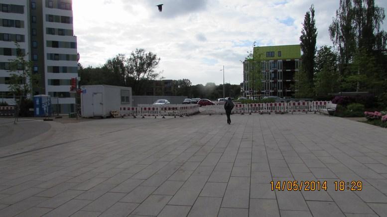 """Rechtzeitig zum """"Startschuss""""-Fest: Die Grenzbefestigungen zu den IBA-Häusern sind abgebaut. ©Copyright Michael Rothschuh"""