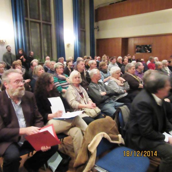 Öffentliche Anhörung im Stadtentwicklungsausschuss der Bürgerschaft am 1.12.2014