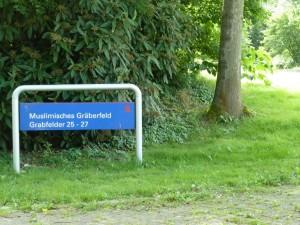 Muslimisches Gräberfeld, © copyright: Renate Weber