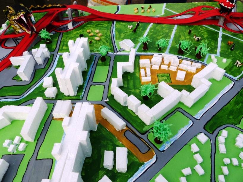 HQS - Modell Kirchdorf Süd auf dem Markt 1-web